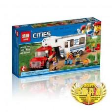 """Конструктор Lepin 02093 """"Дом на колёсах"""" (аналог Лего 60182)"""
