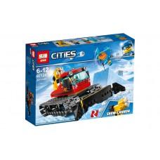 "Конструктор Lepin 02124 ""Снегоуборочная машина"" (аналог Лего 60222)"