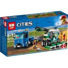 """Конструктор Lepin 02134 """"Транспортёр комбайна"""" (аналог Лего 60223)"""