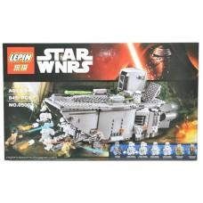 """Конструктор Lepin 05003 """"Star Wars, Транспорт Первого Ордена"""" (аналог Лего 75103)"""