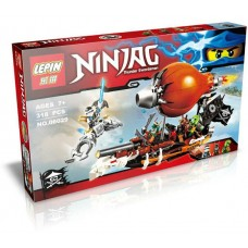 "Конструктор Lepin 06029 Ninjago ""Налет Цеппелина"" (аналог Лего 70603)"