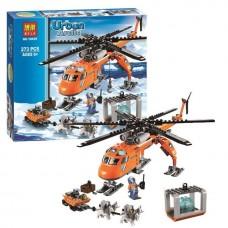 Конструктор  Bela 10439 ''Арктический вертолет'' (аналог Lego 60034)