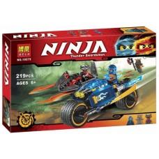 """Конструктор Bela 10579 Ninja """"Пустынная молния"""" (аналог Лего 70622)"""