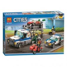 Конструктор Bela 10658 ''Ограбление грузовика'' (аналог Лего 60143)