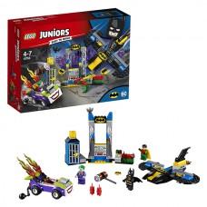 LEGO Juniors 10753 Конструктор Лего Джуниорс Нападение Джокера на Бэтпещеру
