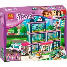 "Конструктор Bela 10761 ""Friends, Клиника ""Хартлейк Сити"""" (аналог Лего 41318)"