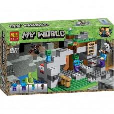 """Конструктор Bela 10810 """"Minecraft, Пещера зомби"""""""