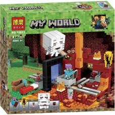 """Конструктор Bela 10812 """"Minecraft, Портал в нижний мир"""""""