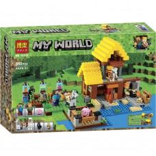 """Конструктор Bela 10813 """"Minecraft, Фермерский домик"""""""