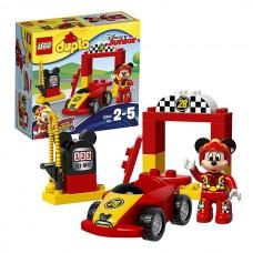 LEGO DUPLO 10843 Конструктор Лего Дупло Гоночная машина Микки