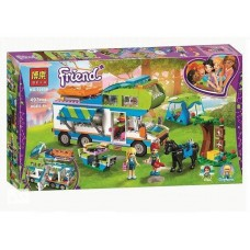"Конструктор Bela 10858 ""Friends, Дом на колёсах""  (аналог Лего 41339)"