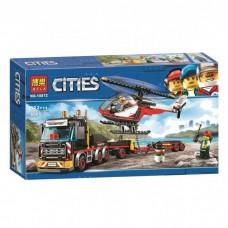 """Конструктор Bela 10872 """"Перевозчик вертолета"""" (аналог Лего 60183)"""