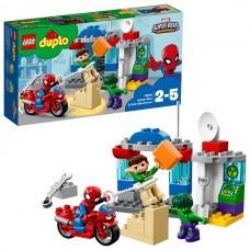 Lego Duplo 10876 Супер Герои: Приключения Человека-паука и Халка