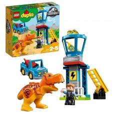 LEGO DUPLO 10880 Конструктор Лего Дупло Jurassic World Башня Ти-Рекса