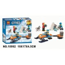 """Конструктор Bela 10992 """"Полярные исследователи"""" (аналог Лего 60191)"""