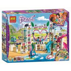 "Конструктор Bela 11035 ""Friends, Курорт Хартлейк-Сити"" (аналог Лего 41347)"