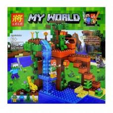 """Конструктор Lele 33197 """"Minecraft, У Водопада"""""""