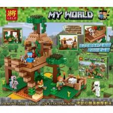 "Конструктор Lele 33198 ""Minecraft, Штаб в лесу"""