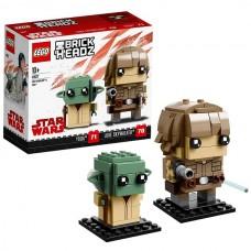 LEGO BrickHeadz 41627 Конструктор Лего БрикХедз Люк Скайуокер и Йода