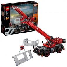 LEGO Technic 42082 Конструктор Лего Техник Подъёмный кран для пересечённой местности