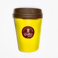 """Сквиши """"Кофе"""" желтый"""