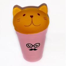 "Сквиши ""Кот в стакане"""