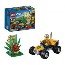 LEGO City 60156 Конструктор Лего Город Багги для поездок по джунглям