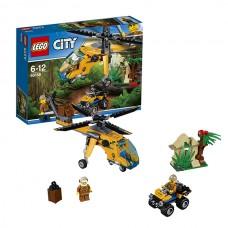 LEGO City 60158 Конструктор Лего Город Грузовой вертолёт исследователей джунглей