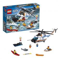LEGO City 60166 Конструктор Лего Город Сверхмощный спасательный вертолёт