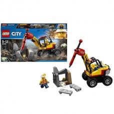 LEGO City 60185 Конструктор Лего Город Трактор для горных работ