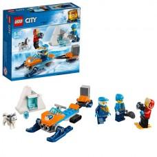 LEGO CITY Арктическая экспедиция Полярные исследователи 60191