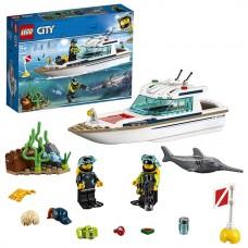 LEGO CITY Транспорт: Яхта для дайвинга 60221