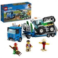 LEGO CITY Транспорт: Транспортировщик для комбайнов 60223