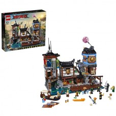 LEGO Ninjago 70657 Конструктор Лего Ниндзяго Порт Ниндзяго Сити