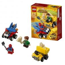 LEGO Super Heroes Mighty Micros 76089 Конструктор Лего Спайдер-Мэн против Песочного человека
