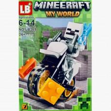 "Мини-фигурка Minecraft LB369H ""Герои на мотоциклах"""