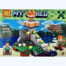 Мини-конструктор Minecraft 93006A