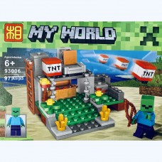 Мини-конструктор Minecraft 93006B