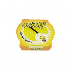 """Игрушка Slime """"Mega"""" светится в темноте, желтый"""