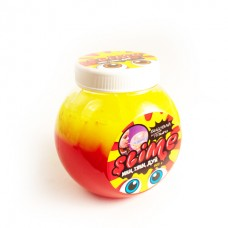"Slime ""Mega Mix"", желтый + клубничный"