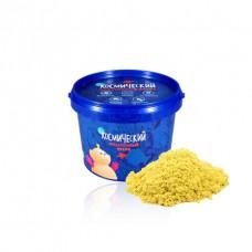 Космический песок 0,5 кг. Цвет - желтый